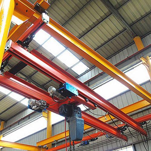 Industrial bridge crane model