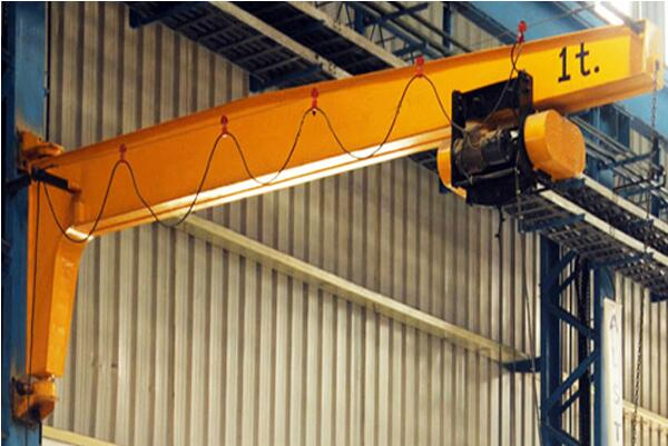 What are the necessary requirements for the cantilever crane metal structure