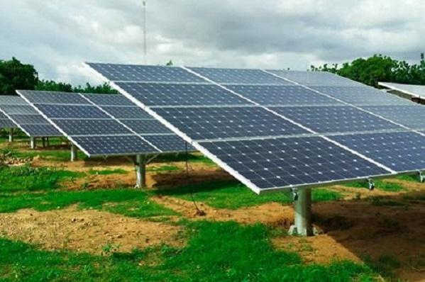 The photovoltaic power impact